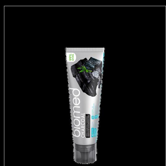 Biomed Charcoal tandkräm, 100 g