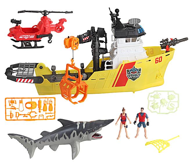 Wild Quest - Shark Ship Playset (549206)