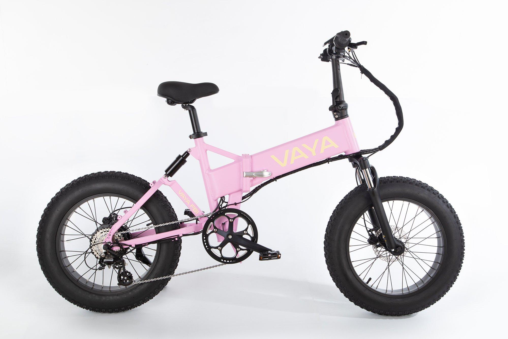 Vaya - Fatbike FB-1 E-Bike - Electric Bike - Flamingo (1647FL)