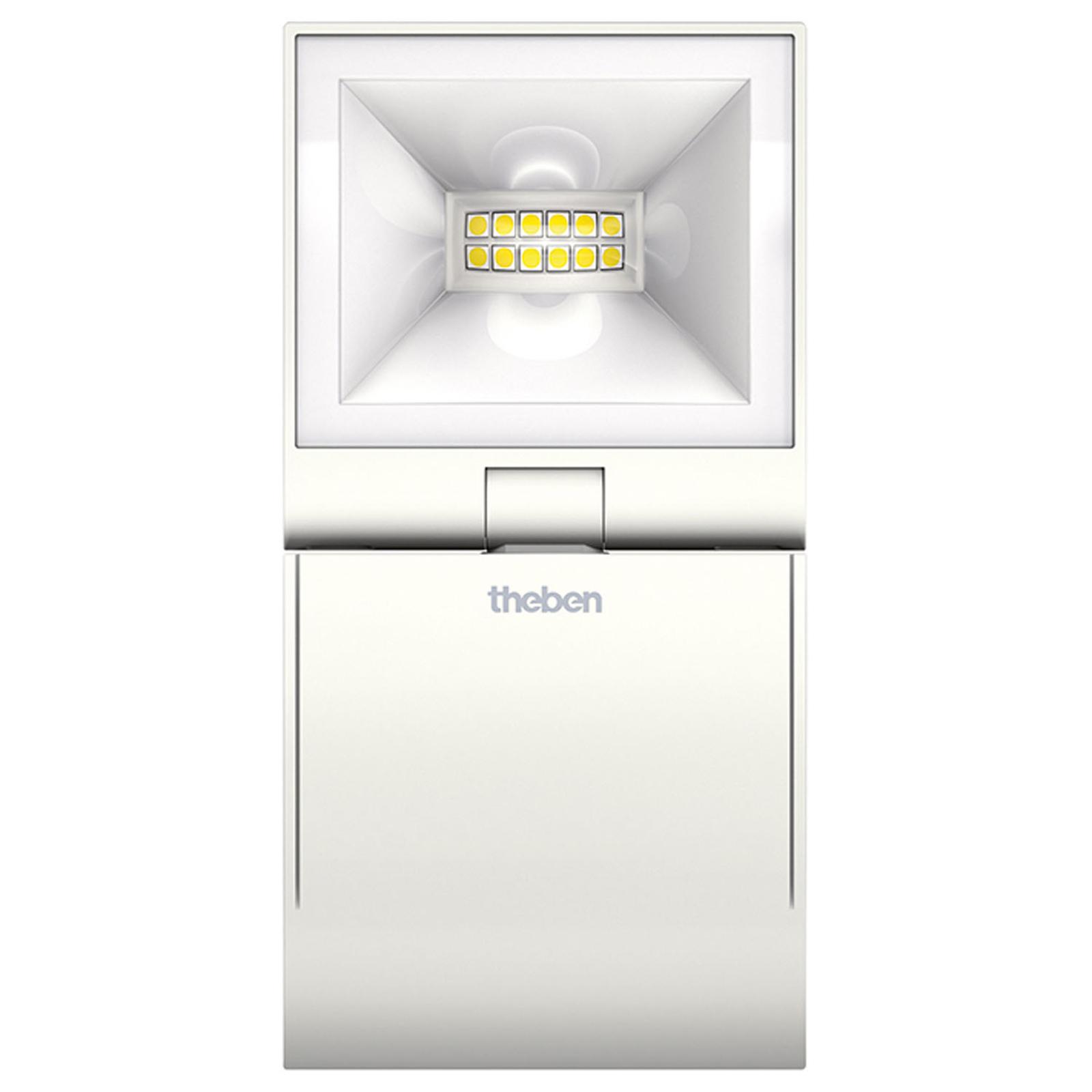 Theben theLeda S10L spotti 1-lamppuinen valkoinen