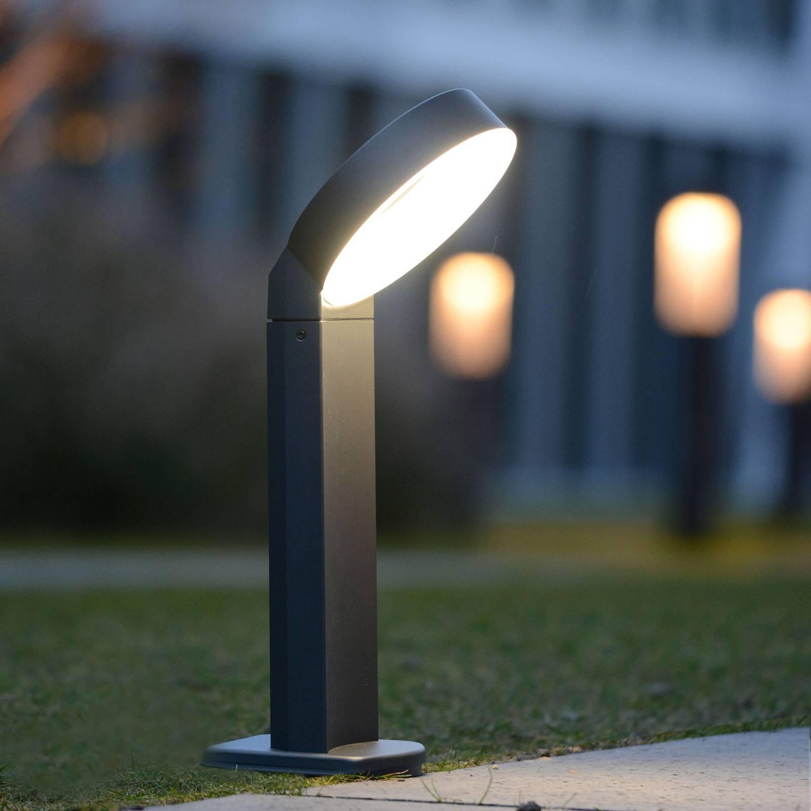 LED-pollarivalaisin Meridian rengaspää