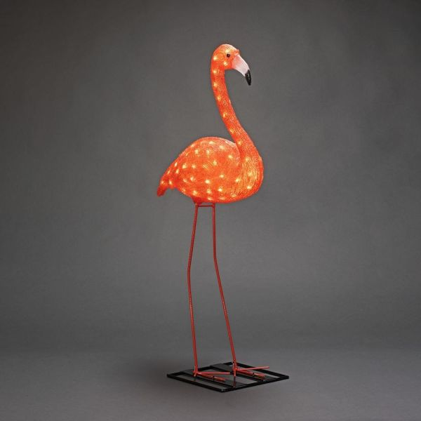 Konstsmide Flamingo Koristevalaisin 24 V, 1 kpl