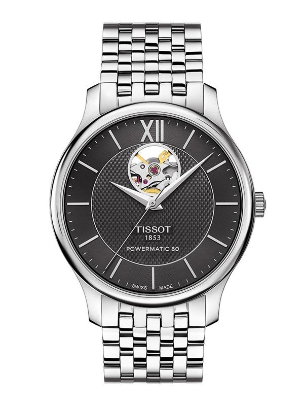 Tissot Tradition Powermatic 80 Open Heart T063.907.11.058.00