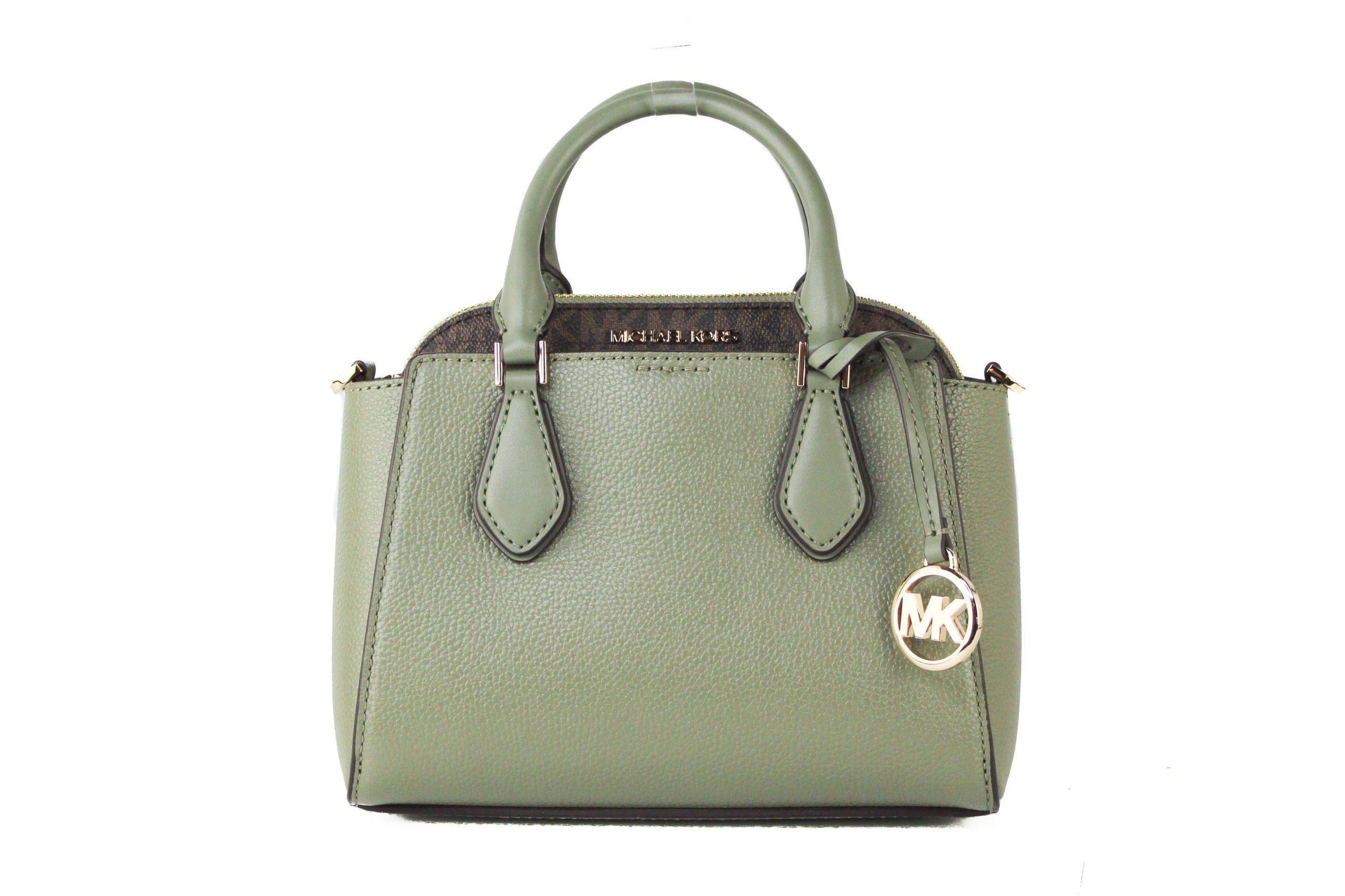 Michael Kors Women's Daria Crossbody Bag Green 23303