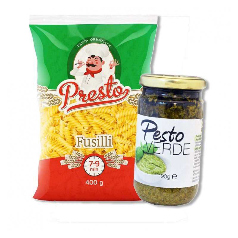 Pesto & Pasta - 51% rabatt