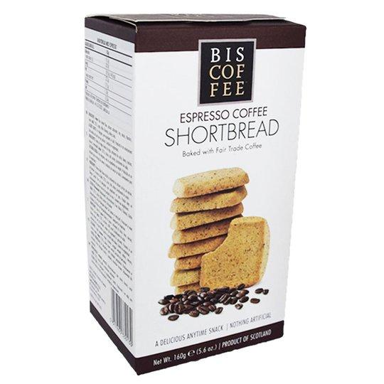 """Kakbröd """"Shortbread Espresso"""" 160g - 41% rabatt"""