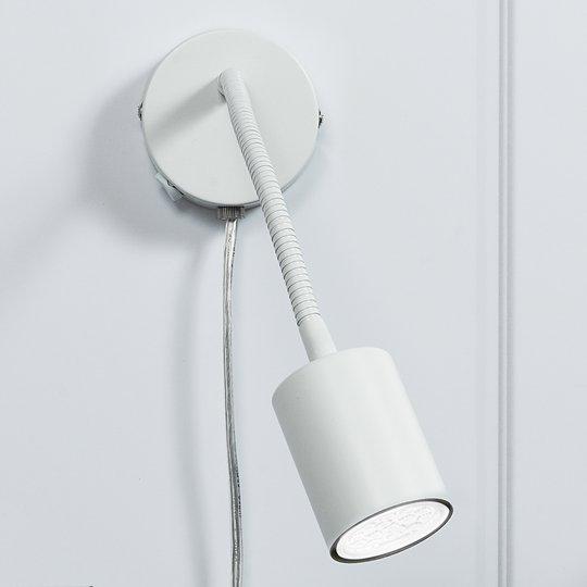 Explore – taipuisa LED-seinäkohdevalaisin, valk.