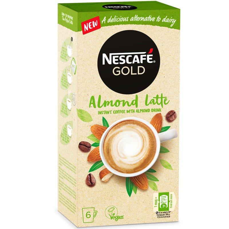 Snabbkaffe Gold Almond Latte - 26% rabatt