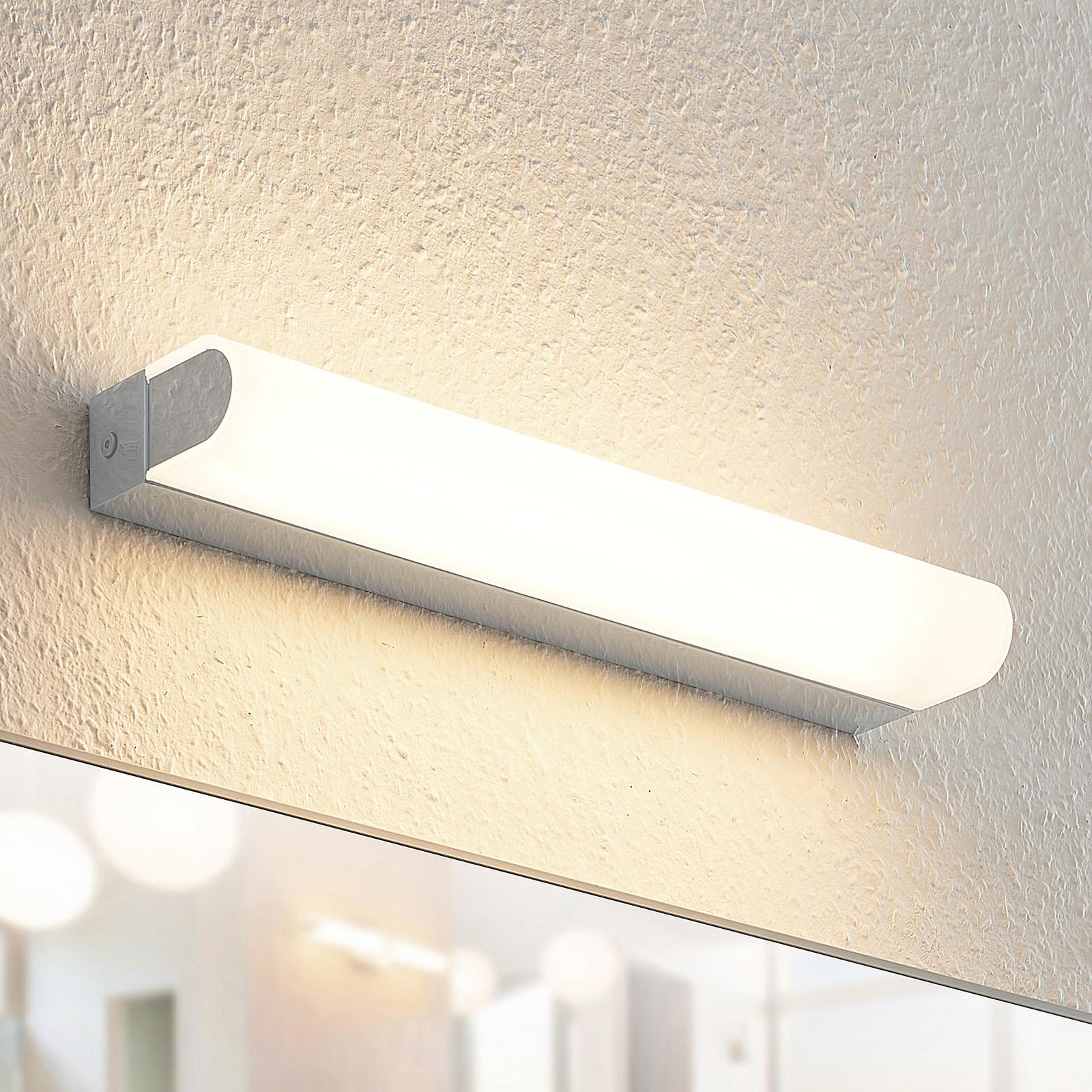 Arcchio Mourice -LED-seinävalaisin, IP44, 35 cm