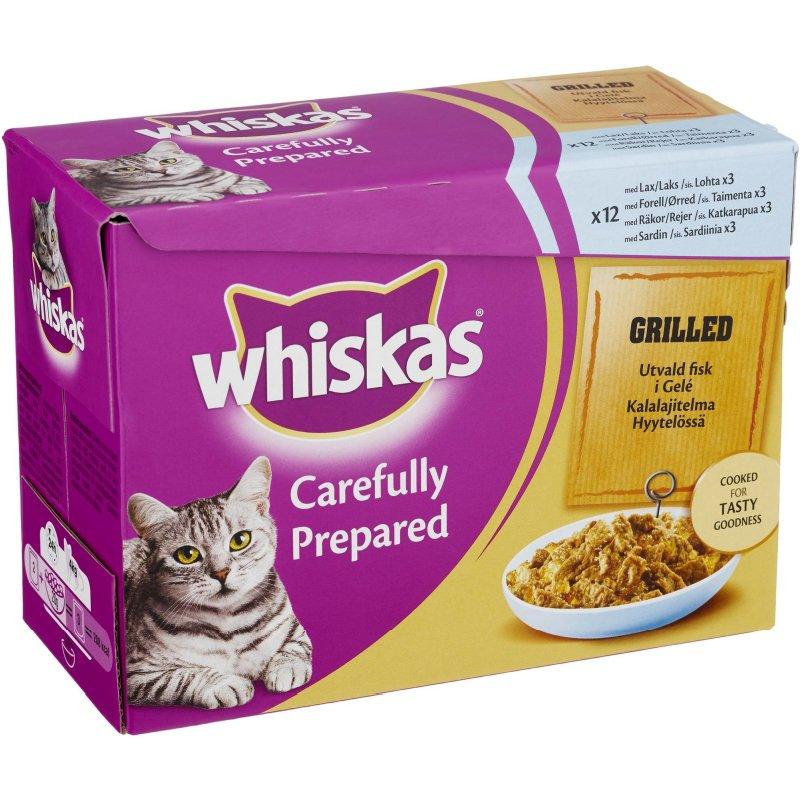 "Kissanruoka ""Valitut Kalat Hyytelössä"" 1,02kg - 22% alennus"