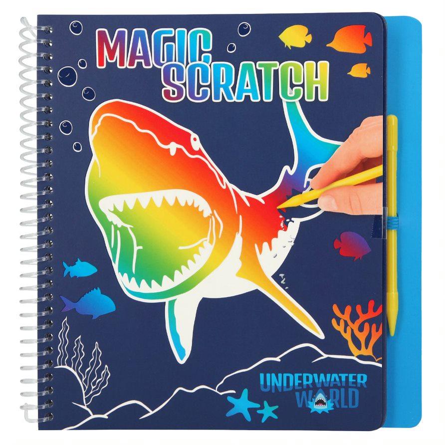 Dino World - Magic-Scratch Book - Underwater (411079)