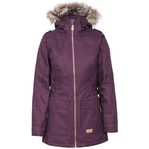 Trespass Women's Padded Jacket Various Colours Everyday - Potent Purple XS