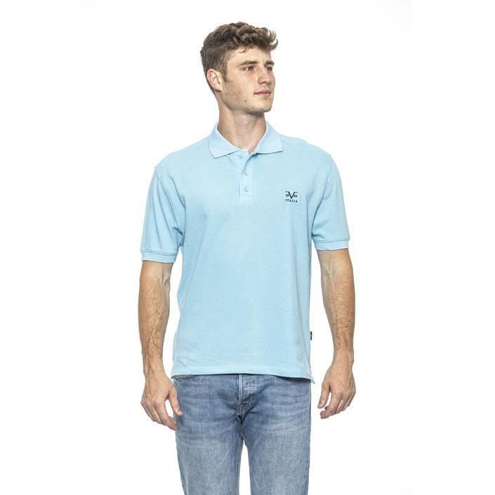 19v69 Italia Men's Polo Shirt Blue 185448 - blue M