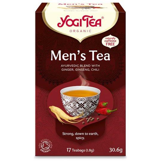 Yogi Tea Men's Tea, 17 påsar