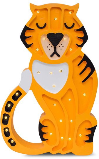 Little Lights Lampa Tiger