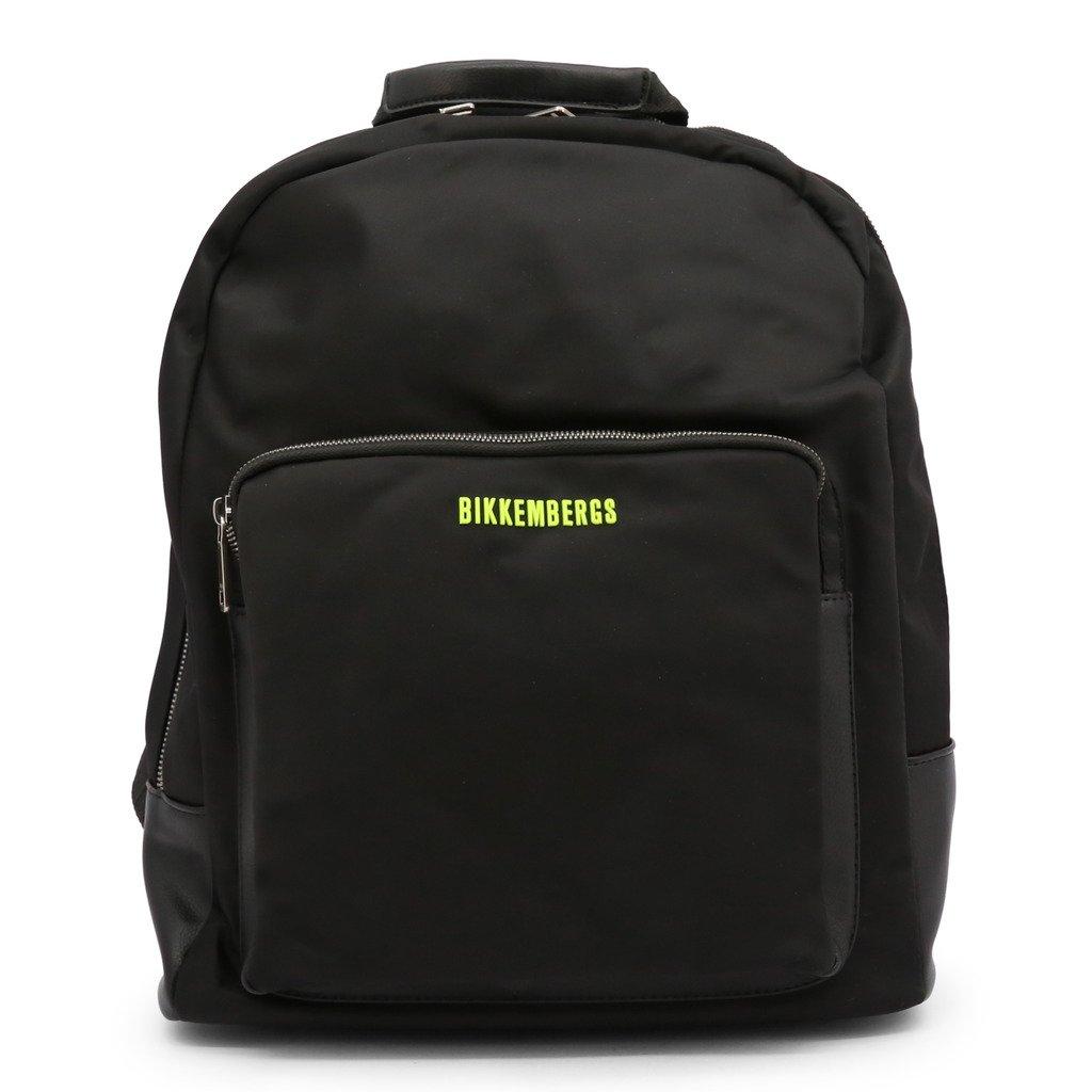 Bikkembergs Men's Backpack Various Colours E2BPME1Q0065 - black NOSIZE