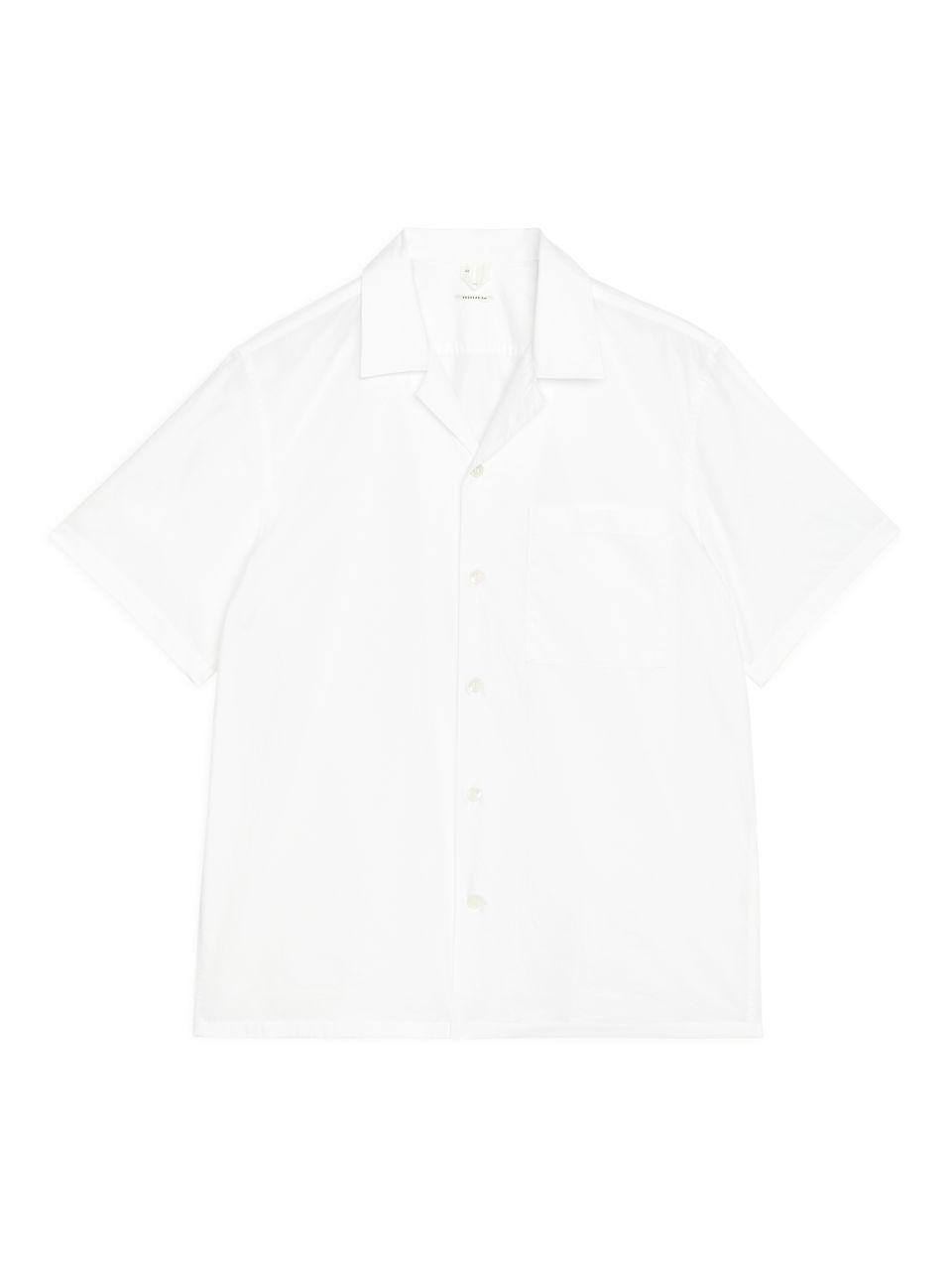 Poplin Resort Shirt - White