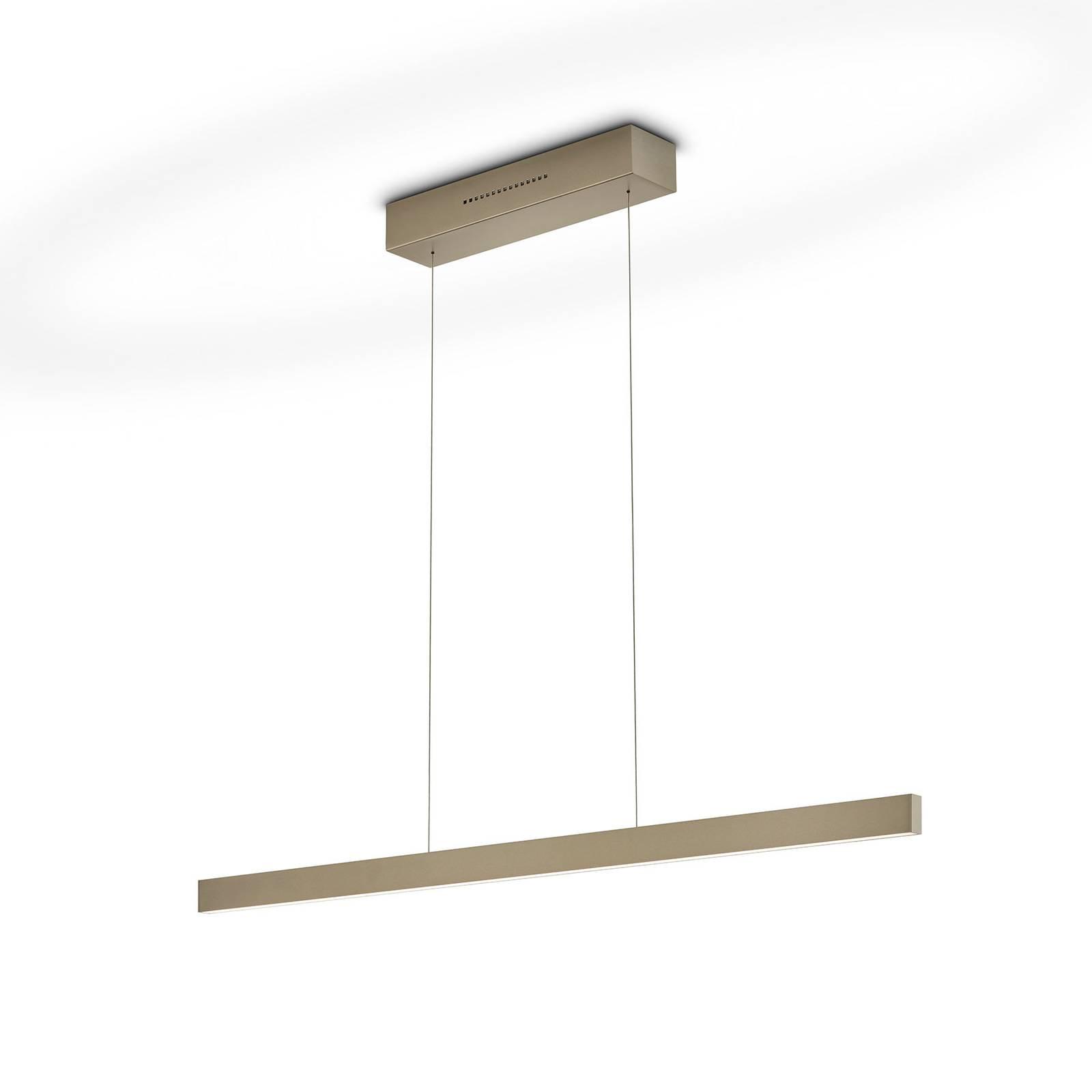 LED-riippuvalaisin Linda-92 bronze 2 200 - 3 000 K