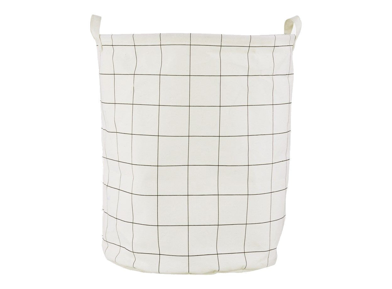 House Doctor - Squares Laundry Bag (Ls0421)