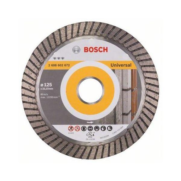 Bosch Best for Universal Turbo Diamantkappskive 125x22,23mm