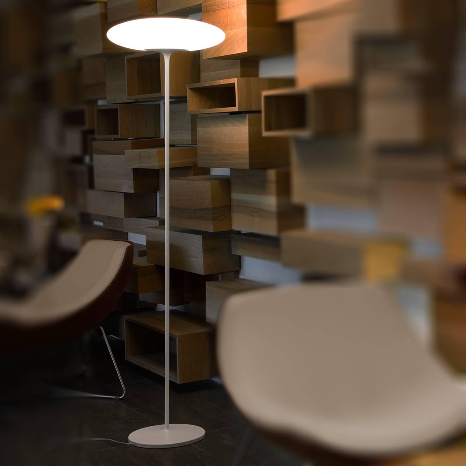 Uudenaikainen LED-lattialamppu Squash