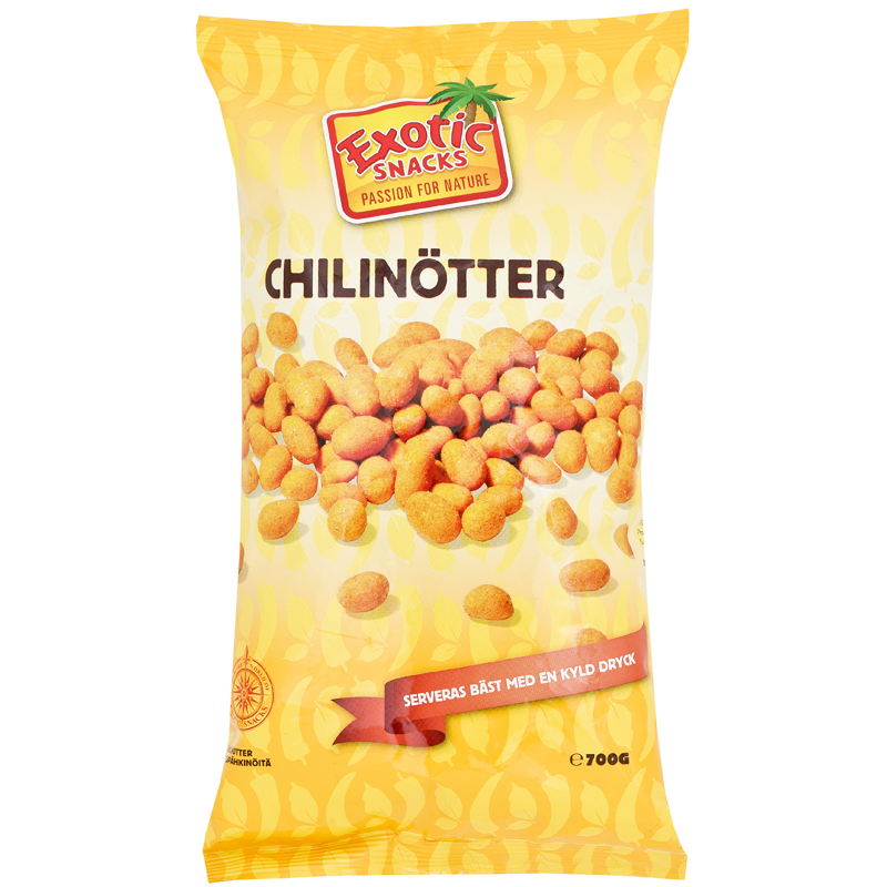 Chilinötter - 36% rabatt