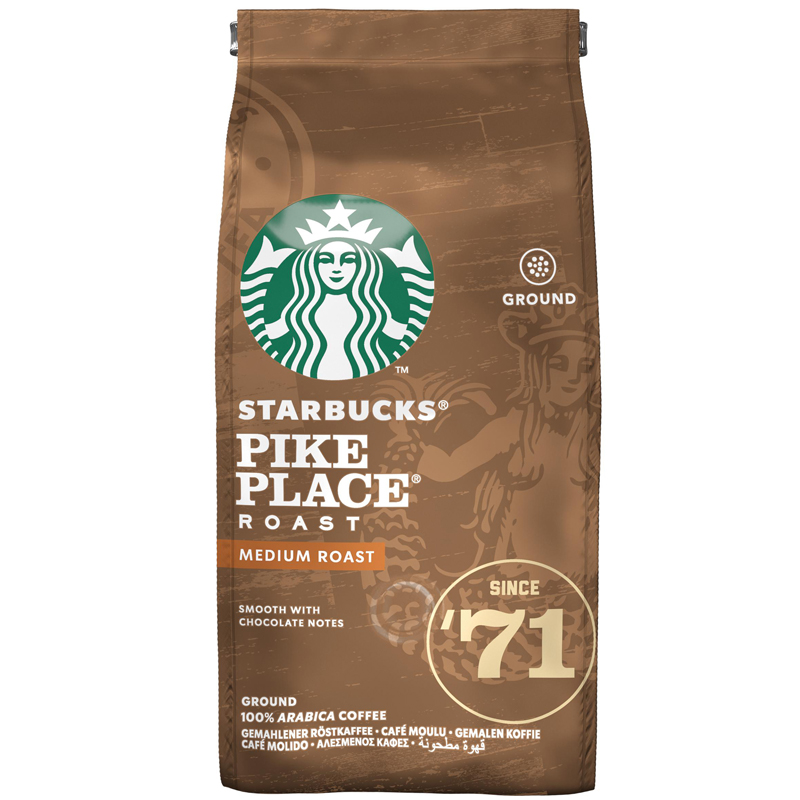 Kaffe Mellanrost Pike Place Malet - 24% rabatt