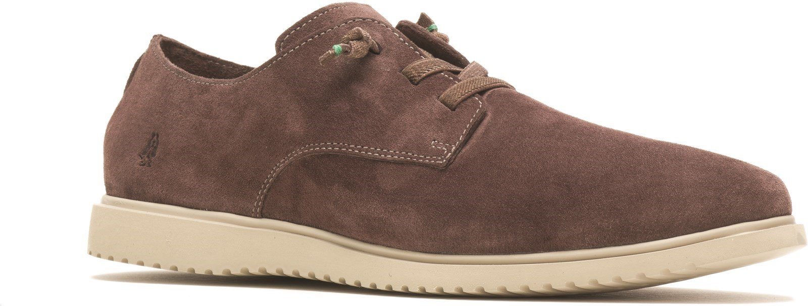 Hush Puppies Men's Everyday Lace Trainer Coffee 31968 - Coffee 6