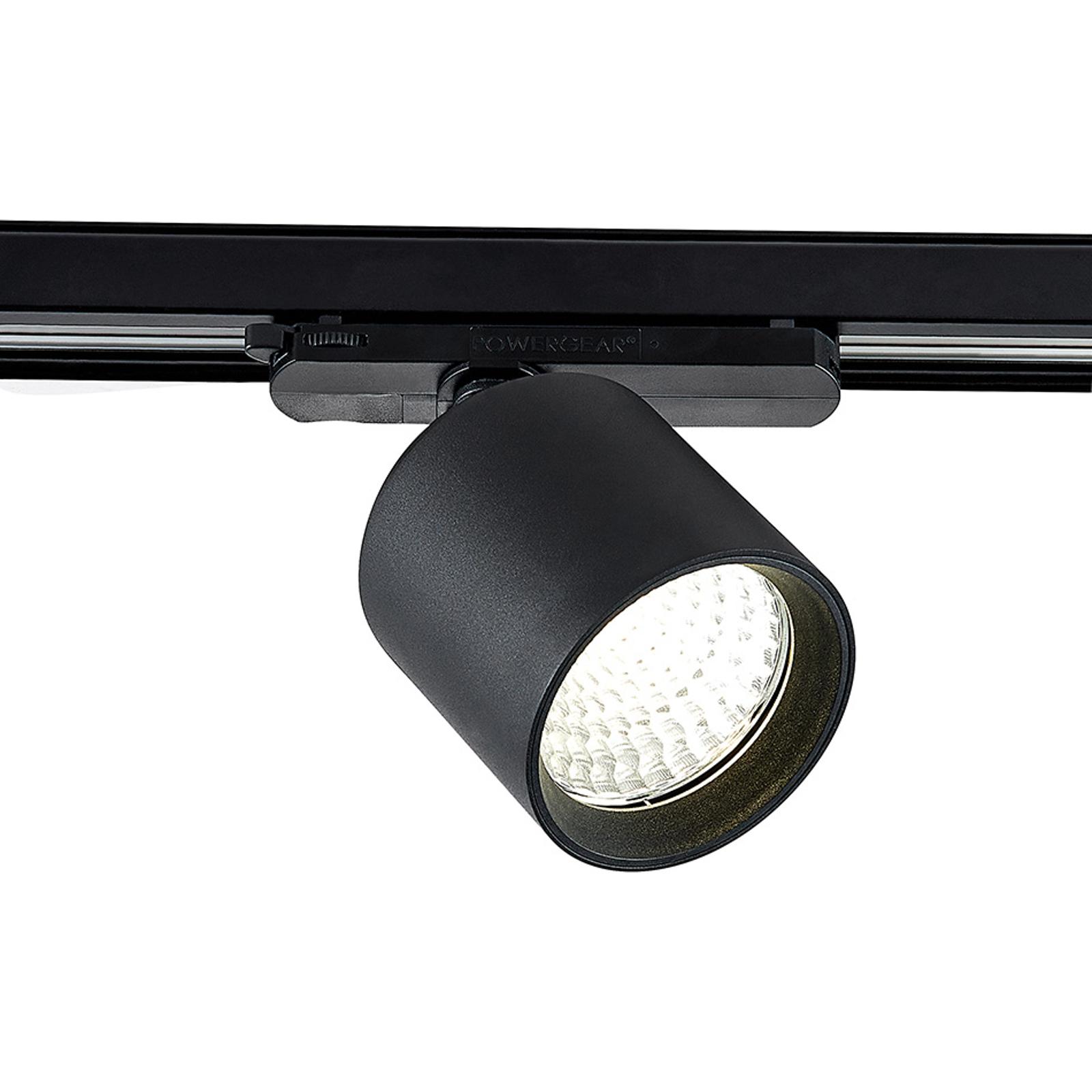 Arcchio Candra -LED-kiskospotti musta 26W 4 000 K