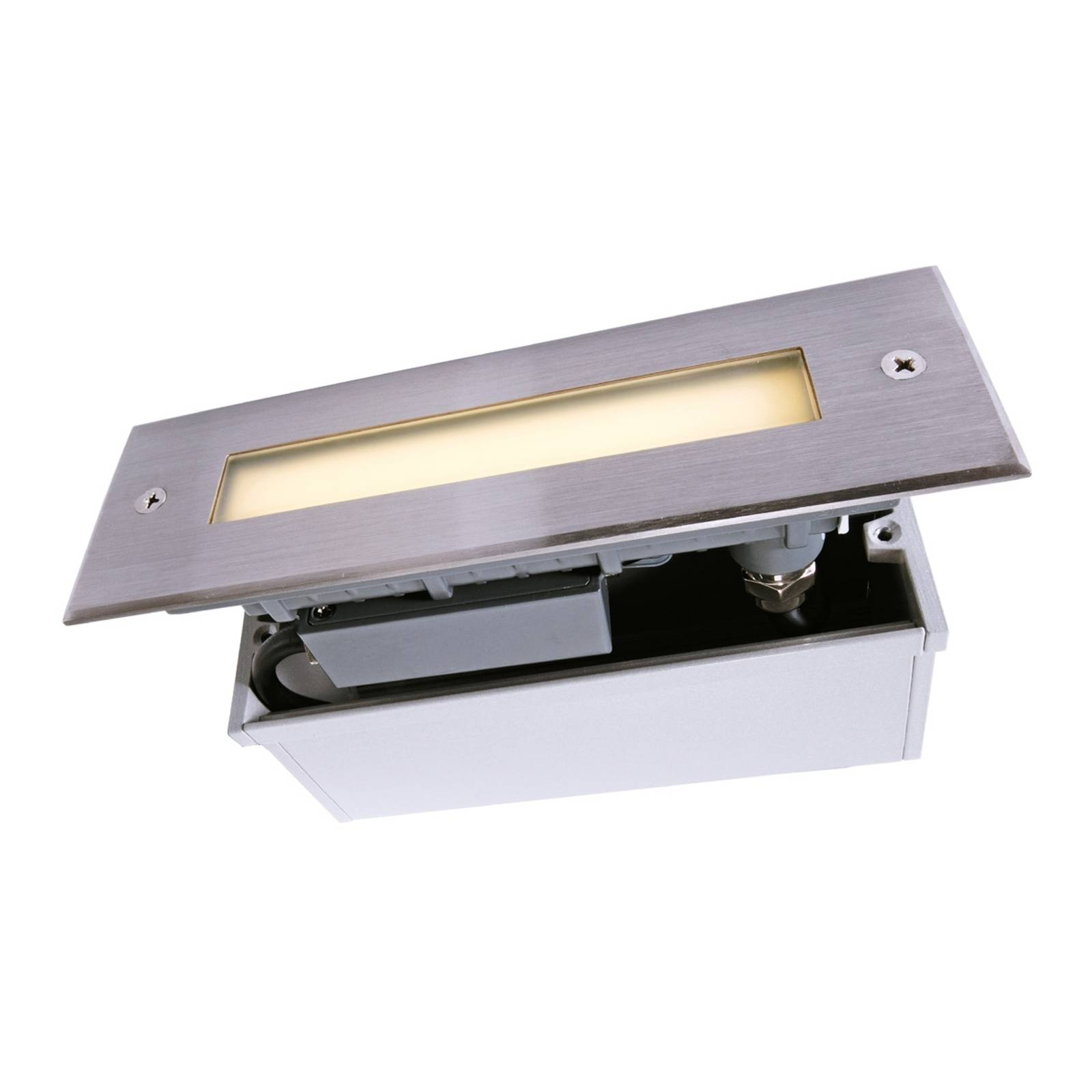 LED-lattiauppovalaisin Line, pituus 18,3 cm