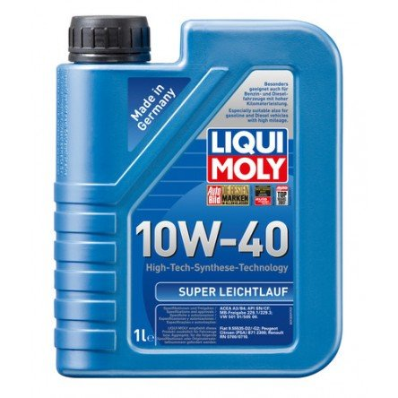Moottoriöljy LIQUI MOLY SUPER LEICHTLAUF 10W40 1L