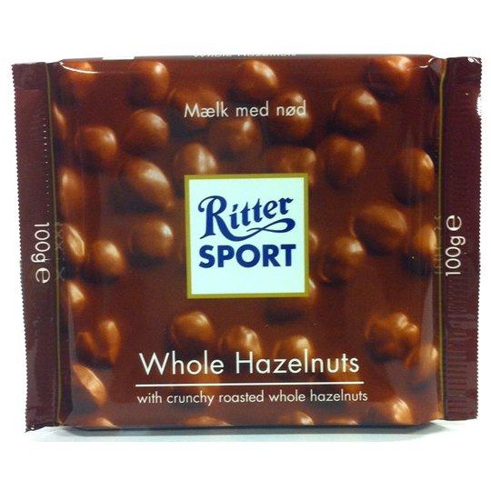 Ritter Sport Whole Hazelnuts - 37% rabatt