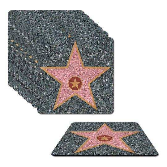 Hollywood Stars Glasunderlägg - 8-pack