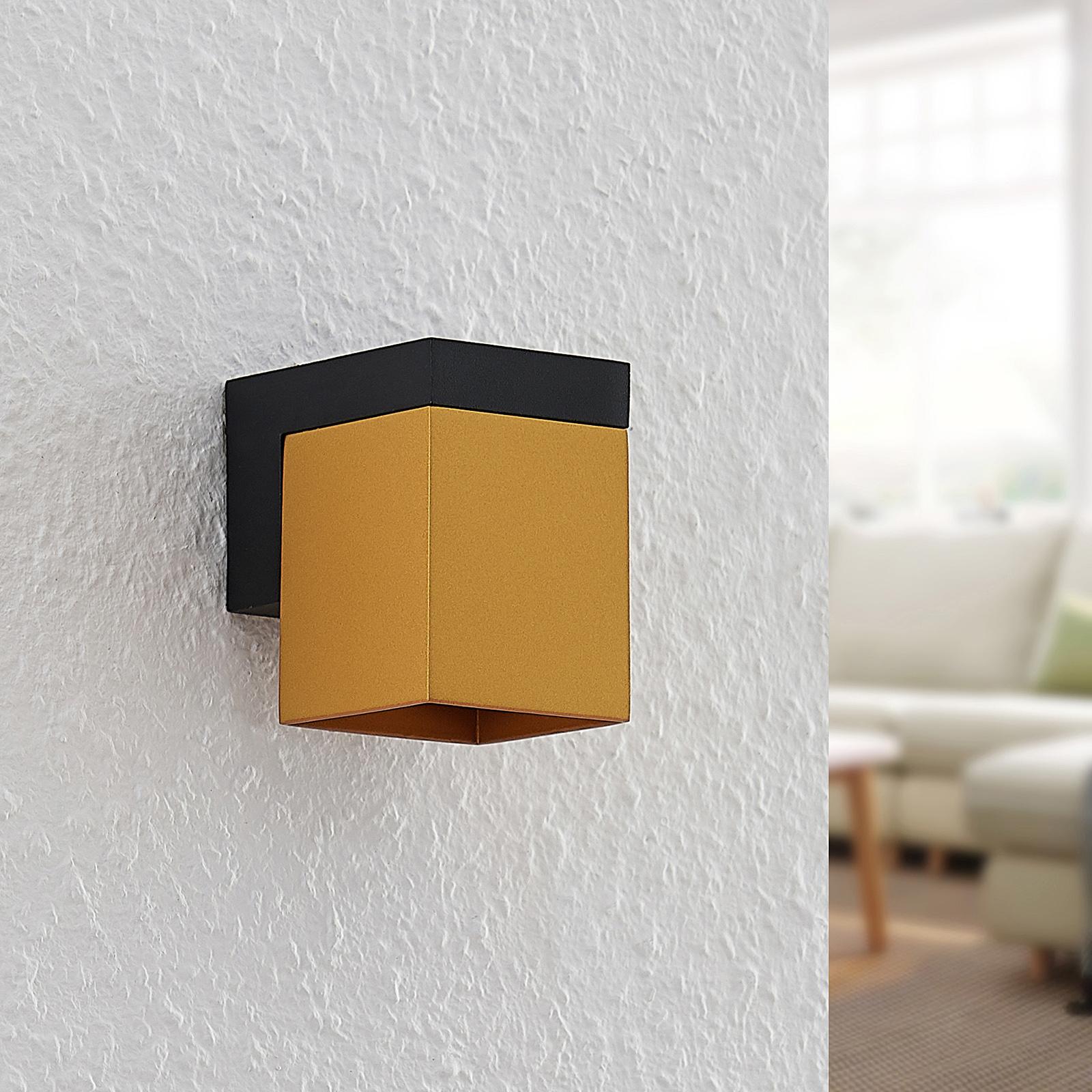 Arcchio Samsa -seinävalaisin 1-lamppuinen kulta