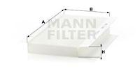 Raitisilmasuodatin MANN-FILTER CU 3567