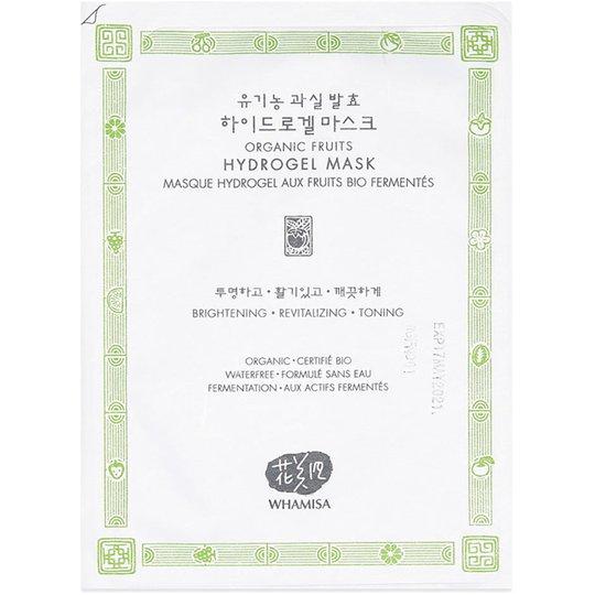 Whamisa Organic Fruits & Tomato Hydrogel Mask, 33 g Whamisa Skincare K-Beauty