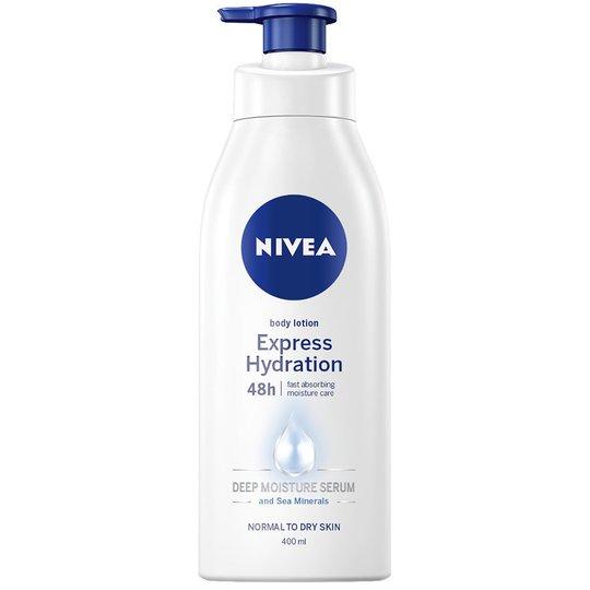 Express Hydration Body Lotion Pump, 400 ml Nivea Vartaloemulsiot