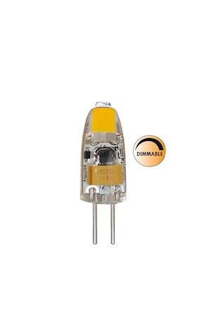 Lyspære LED Klar Dimbar G4