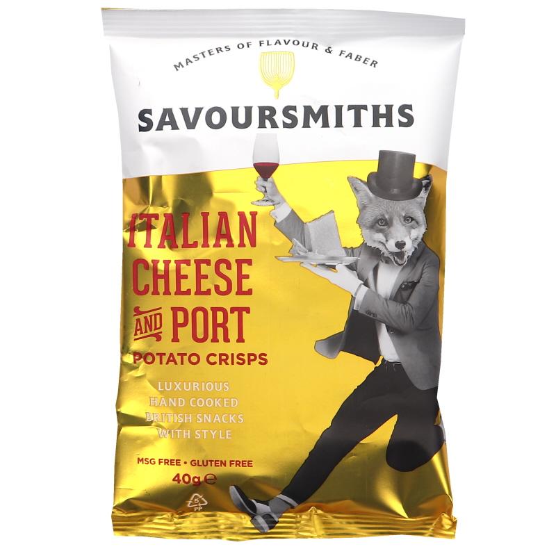 Italian Cheese and Port Chips - 32% rabatt