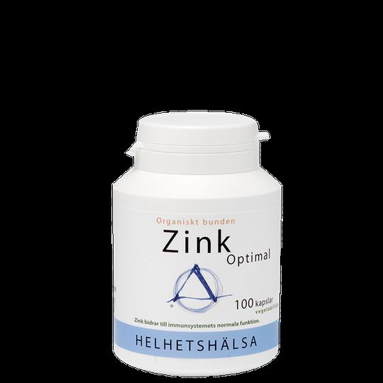Zink Optimal 25 mg, 100 kapslar