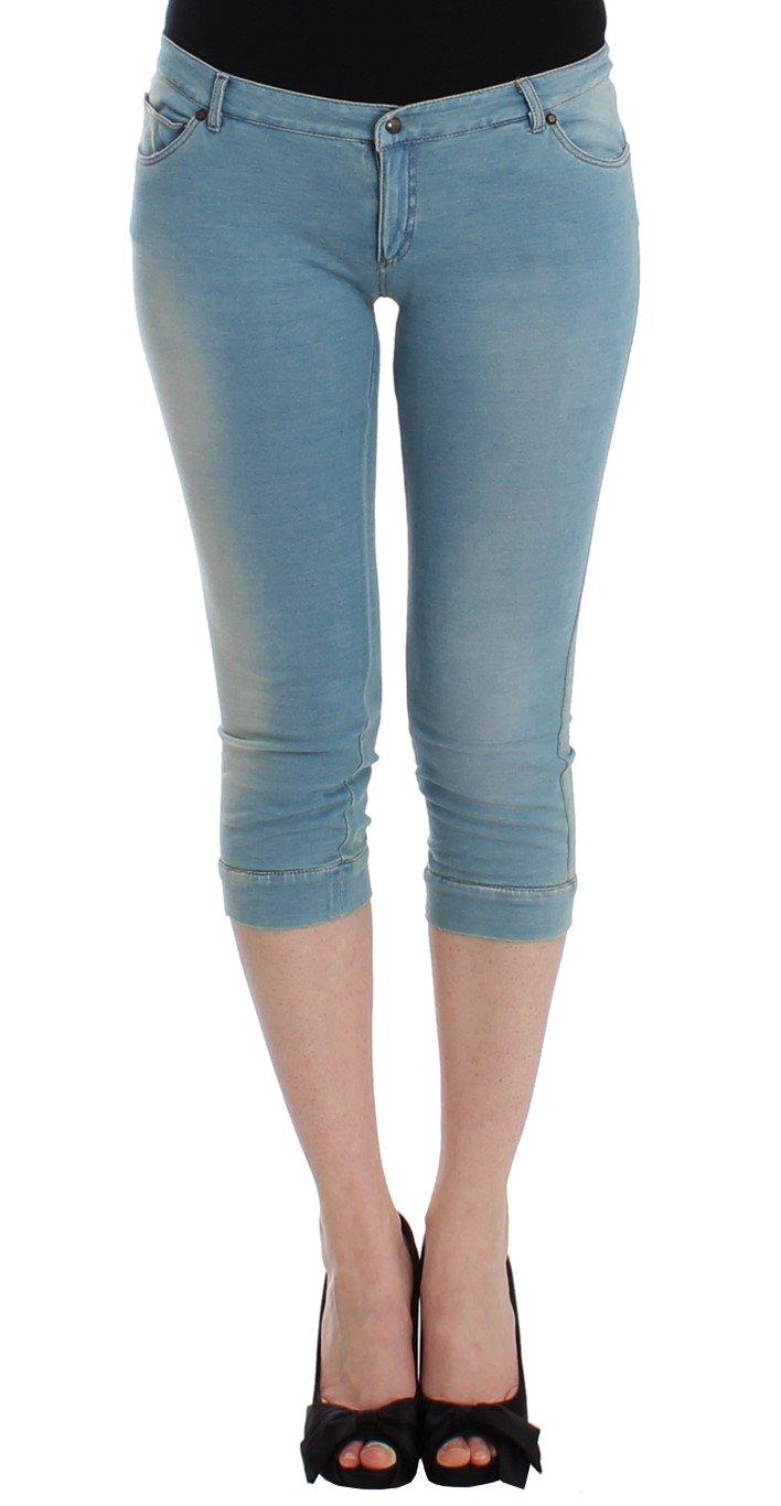 Ermanno Scervino Women's Capri Cropped Jeans Blue SIG12455 - IT3 | M