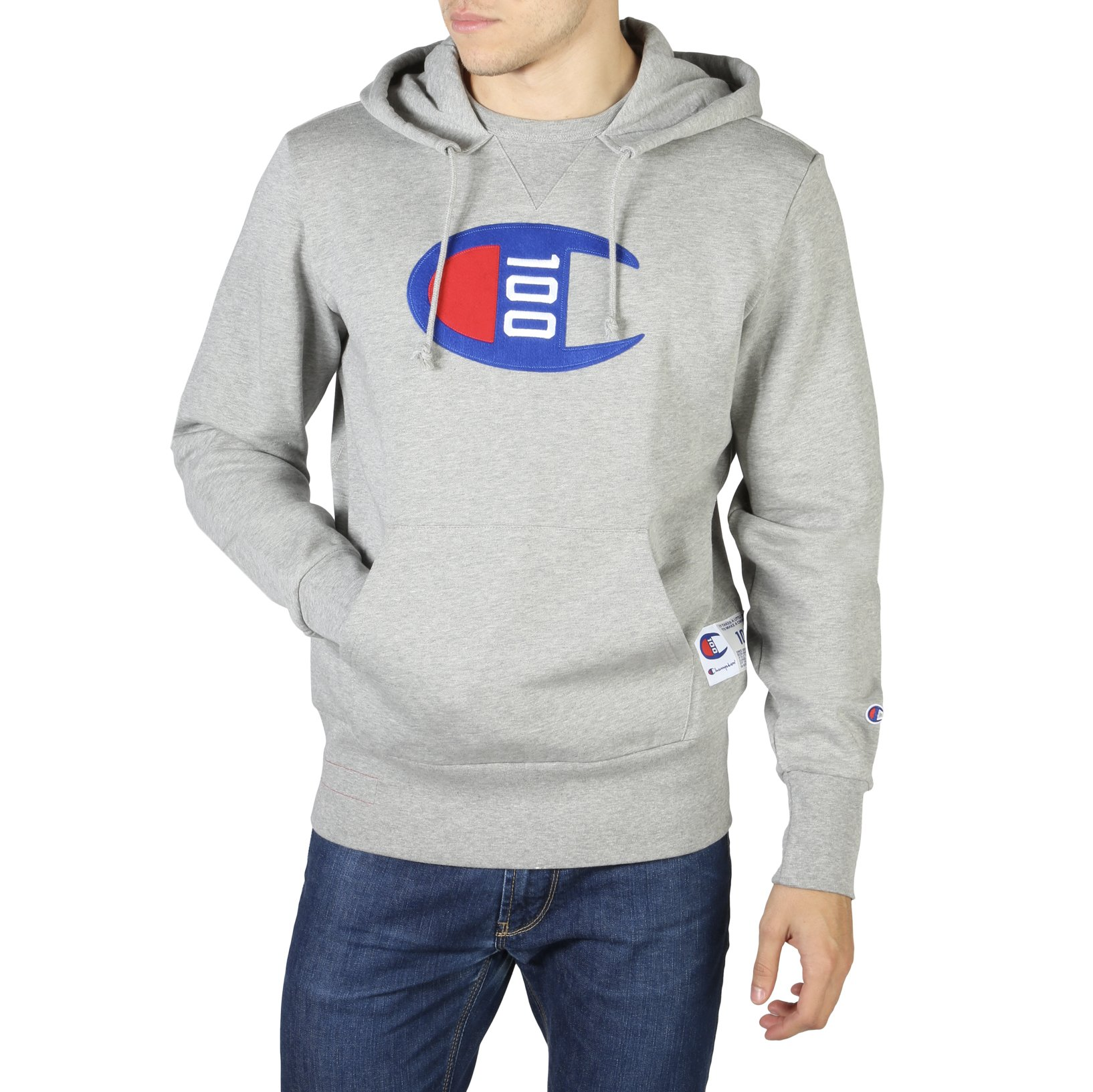 Champion Men's Sweatshirt Various Colours 214368 - grey S