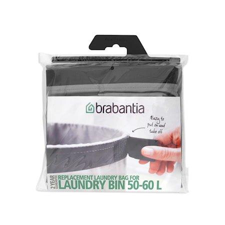 Vaskepose 60 L mørkegrå