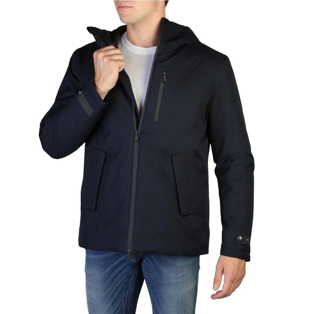Geox Men's Jacket Blue M9421CT2552 - blue 48