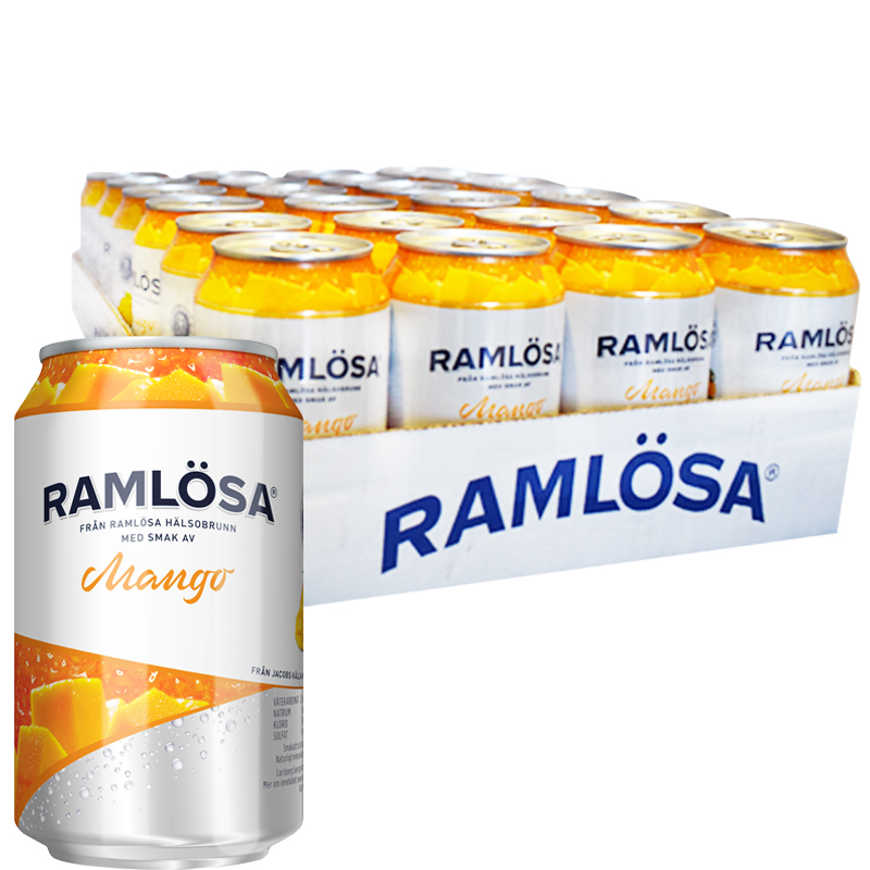 Ramlösa Mango 24-pack - 20% rabatt