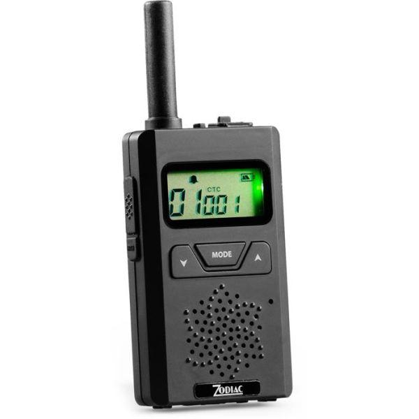 Zodiac Micro 446 Komm.radio Svart 1-pakn.