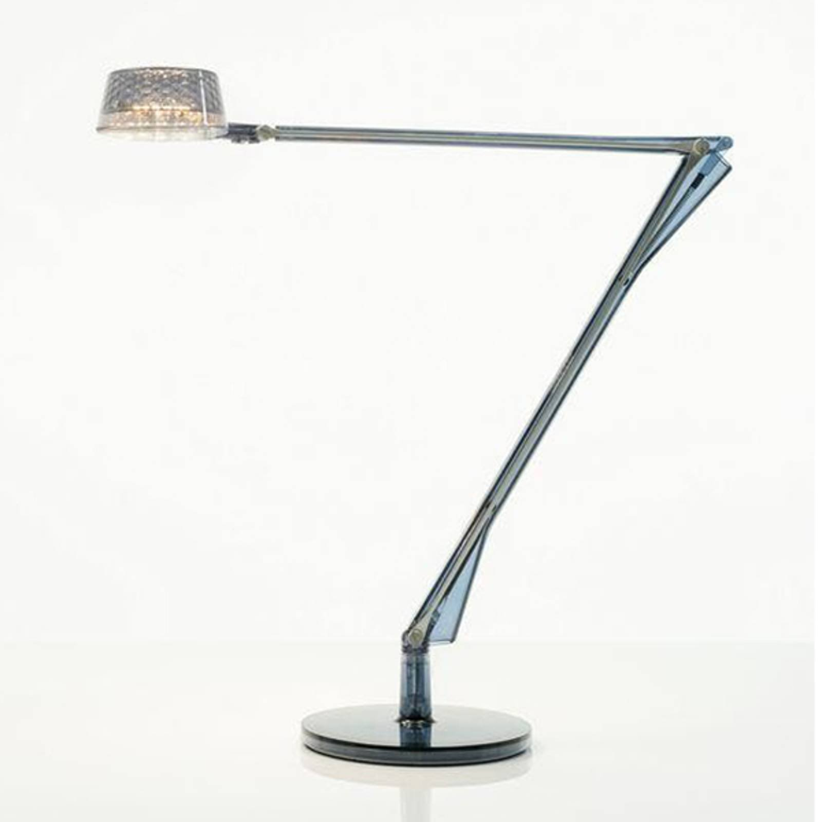 Justerbar LED bordlampe Aledin Dec, blå