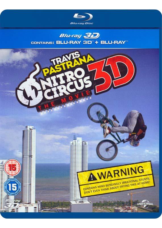 Nitro Circus: The Movie (3D Blu-Ray)