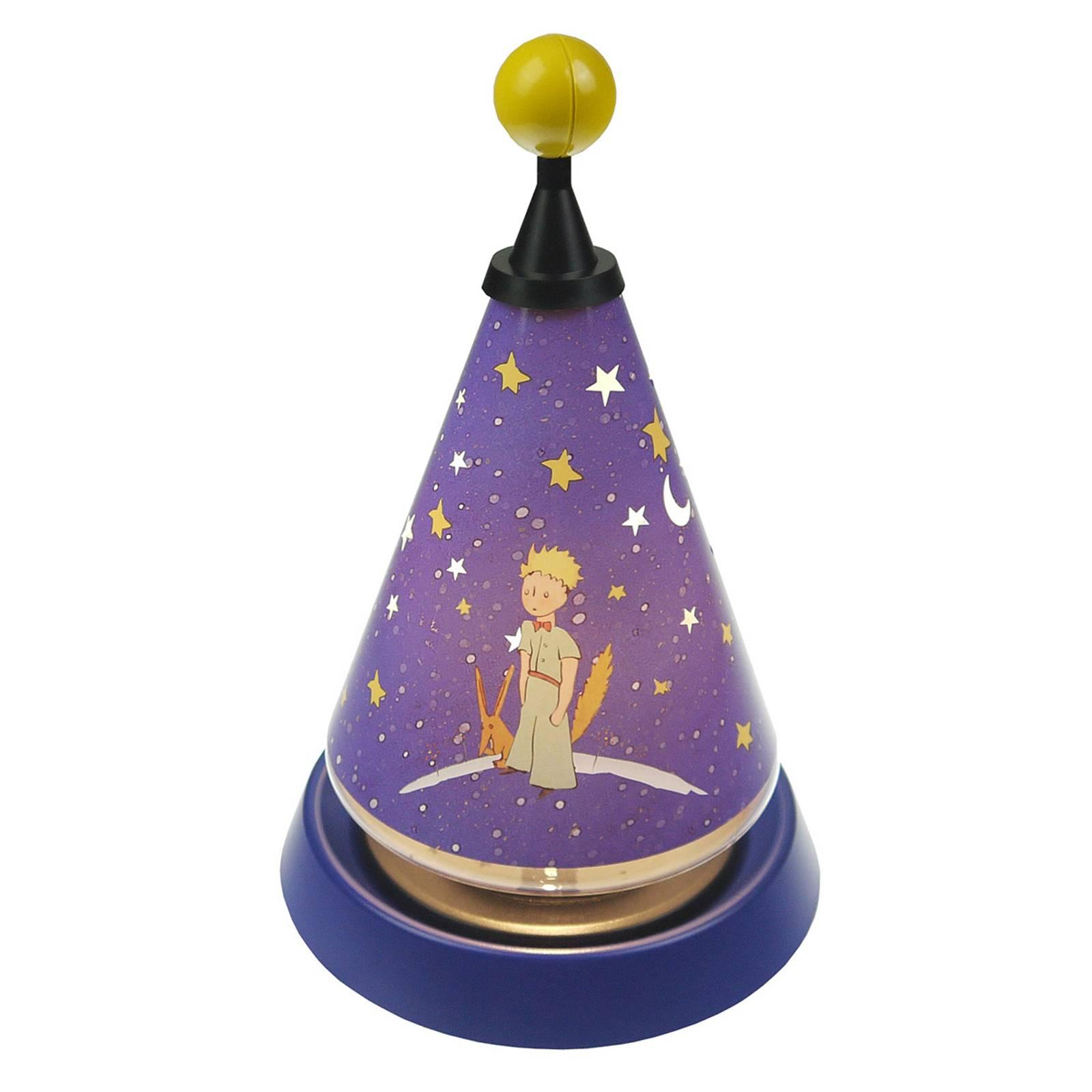 Carrousel pikku-prinssi - pyörivä yövalo