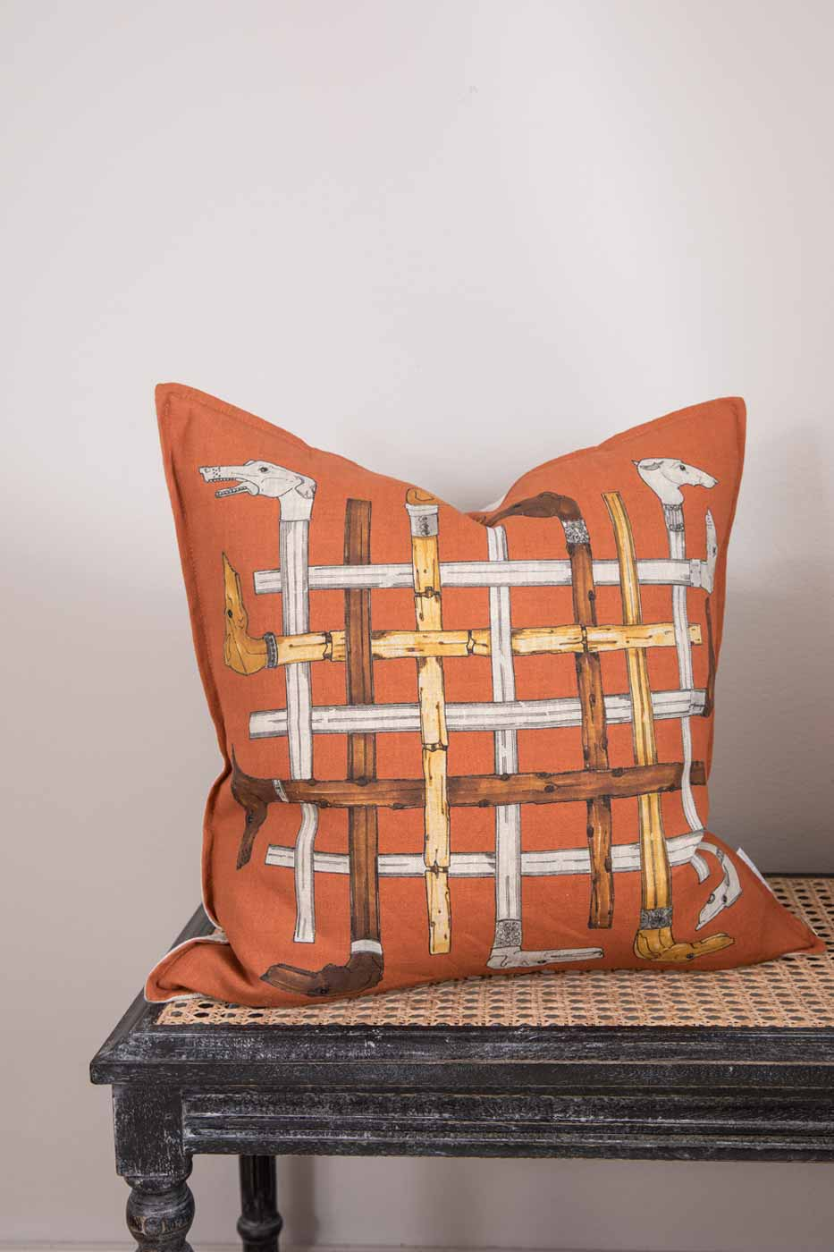 Kuddfodral Greyhound Cane orange